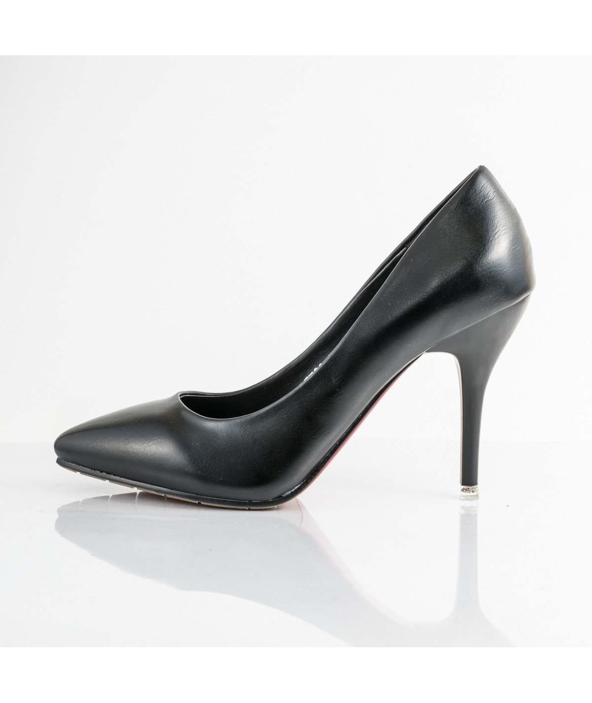 Black Leather pumps - Allure