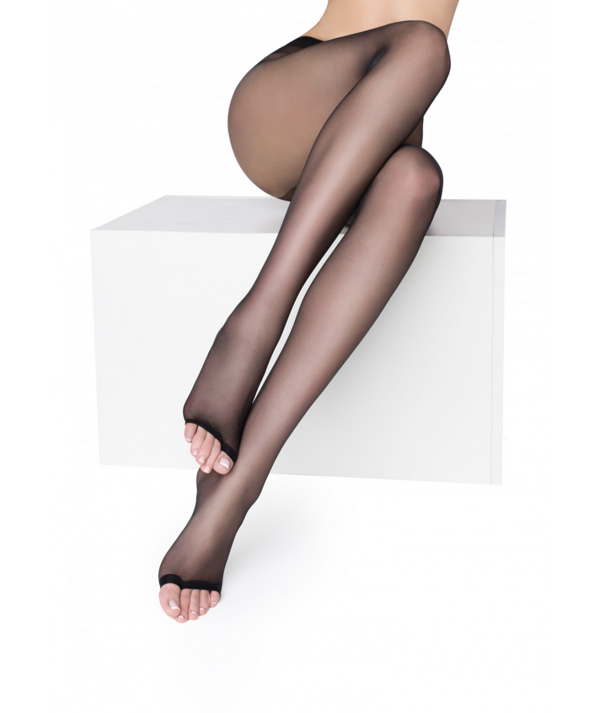 Toeless Stockings  (Black)