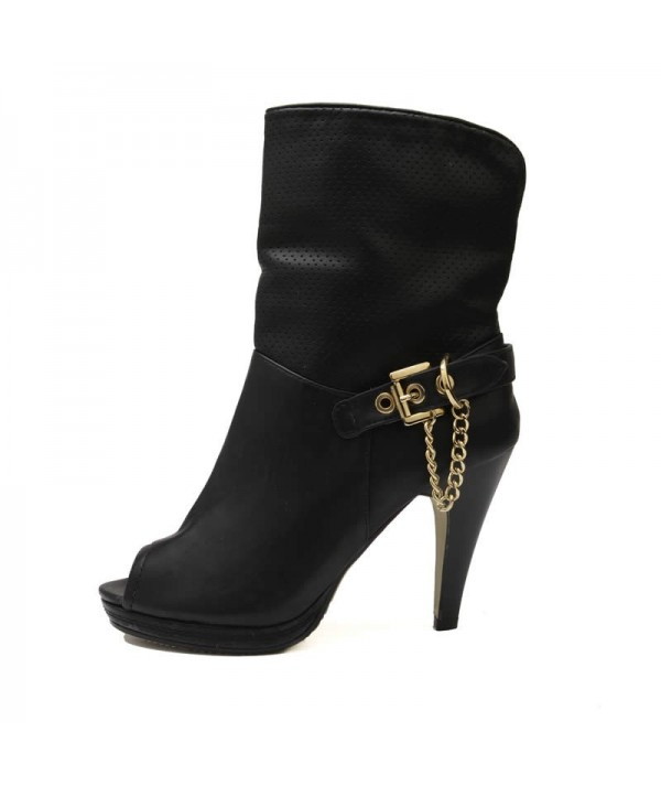 Zara Black Open Toe Shoes