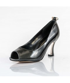 Melanie Material Patent Leather Hgh Heel