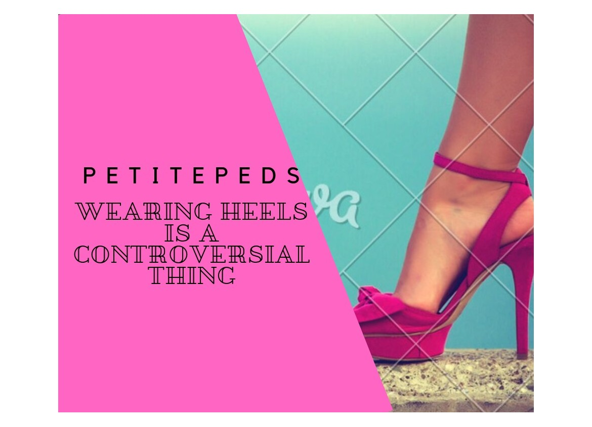 Wearing Heels is  a Controversial Thing